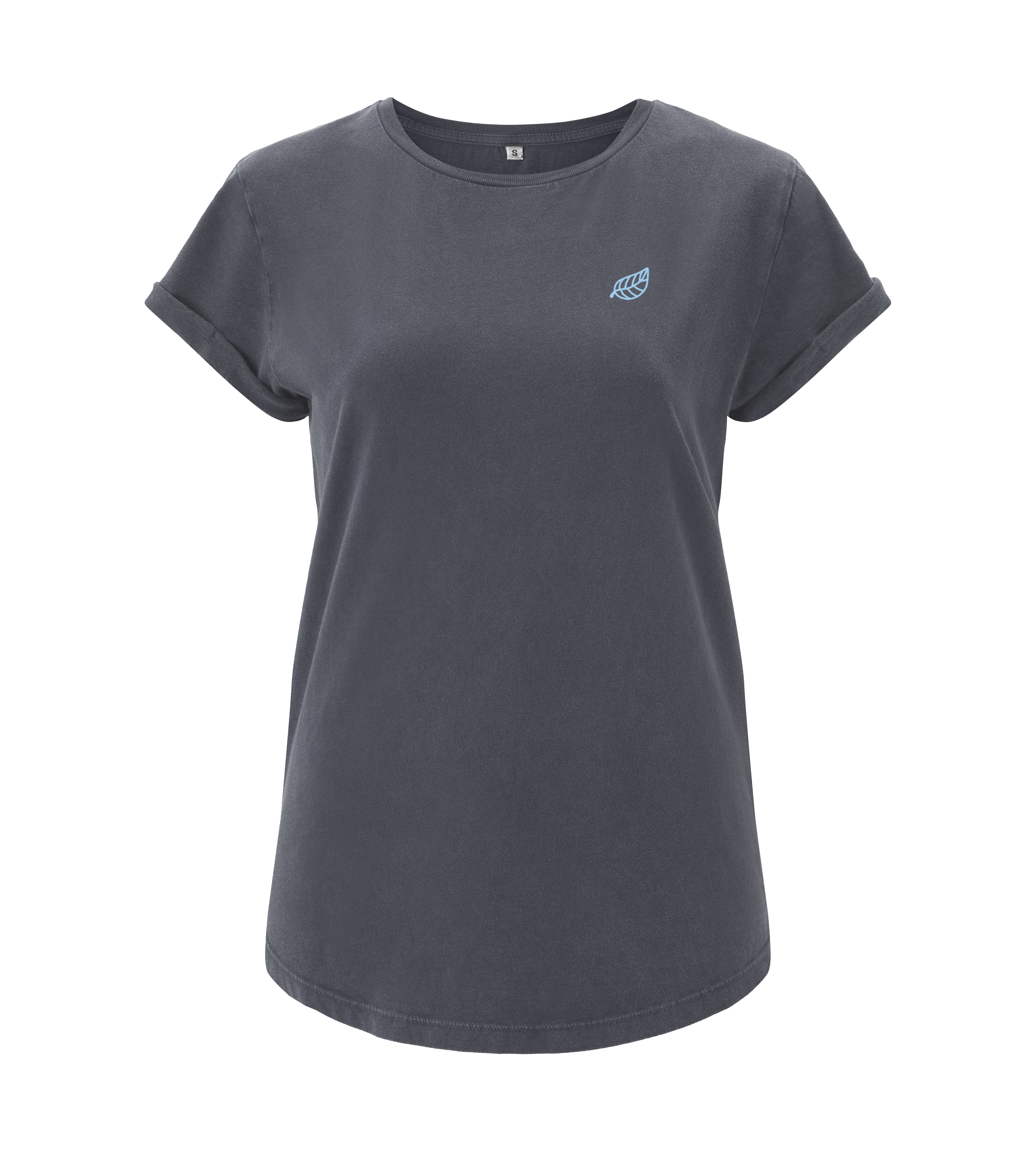 Basis Shirt - Light Charcoal - Frauen