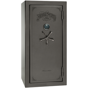 "Classic Select Series | Level 6 Security | 90 Minute Fire Protection | Blue Gloss | Mechanical | 40 | Dimensions: 66.5""(H) x 36""(W) x 32""(D)"
