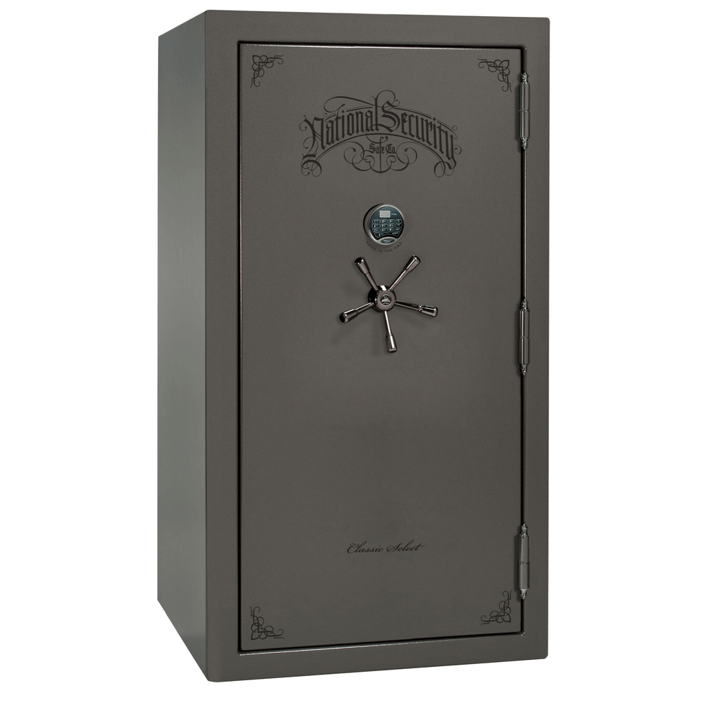 "Classic Select Series | Level 6 Security | 90 Minute Fire Protection | Blue Gloss | Mechanical | 60 | Dimensions: 72.5""(H) x 50""(W) x 32""(D) 