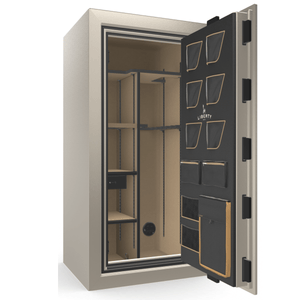 Classic Plus Series | Level 7 Security | 110 Minute Fire Protection | White Marble | Electronic Lock