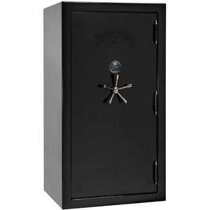 Classic Plus Series | Level 7 Security | 110 Minute Fire Protection | Black Gloss | Mechanical Lock
