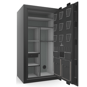 Classic Plus Series | Level 7 Security | 110 Minute Fire Protection | Black Gloss | Electronic Lock