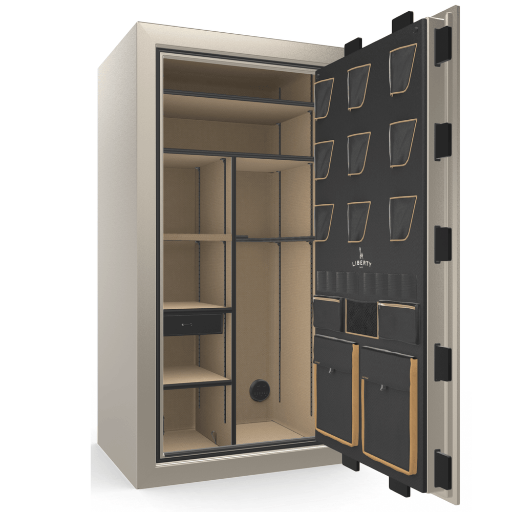 Classic Plus Series | Level 7 Security | 110 Minute Fire Protection | Gray Marble | Electronic Lock