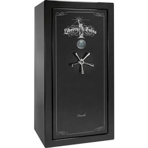 "Lincoln Series | Level 5 Security | 90 Minute Fire Protection | Black Textured | Mechanical Lock | 25 | Dimensions: 60.5""(H) x 30""(W) x 28.5""(D)"