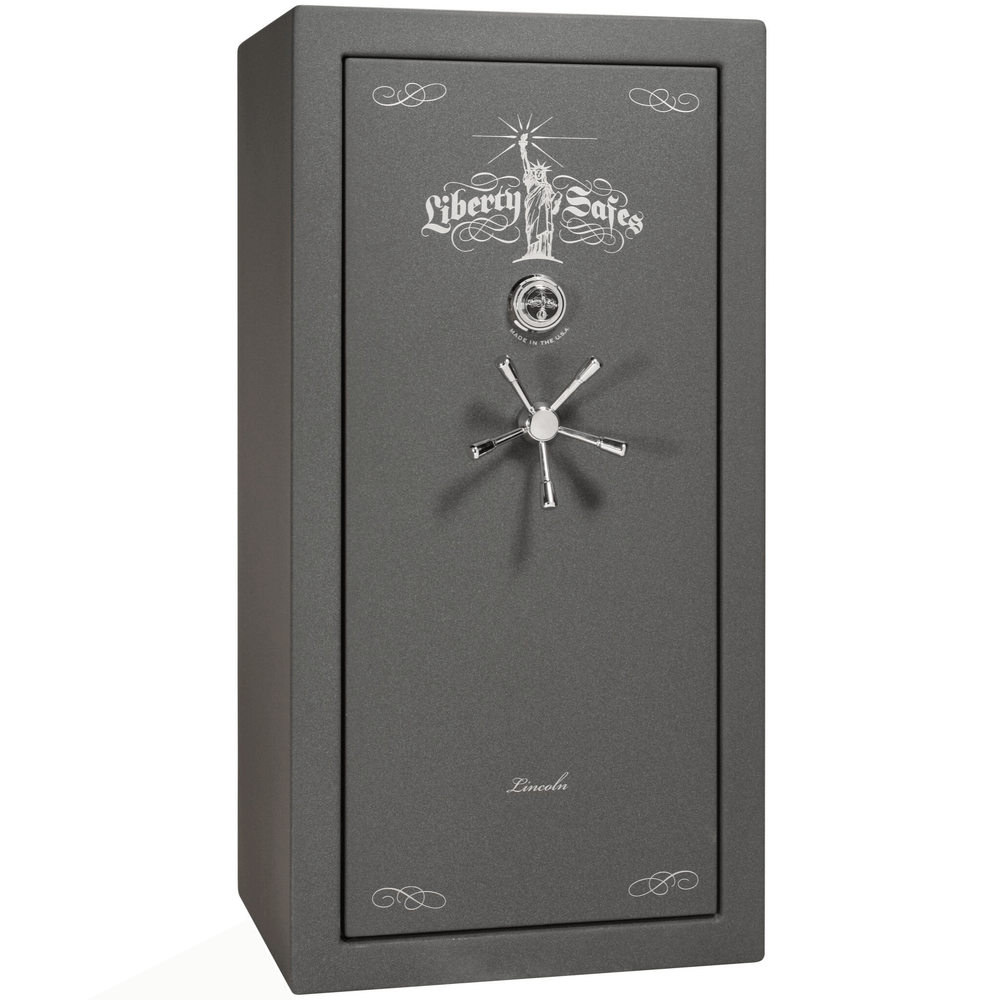 "Lincoln Series | Level 5 Security | 90 Minute Fire Protection | Bronze Textured | Mechanical Lock | 40 | Dimensions: 66.5""(H) x 36""(W) x 32""(D)"