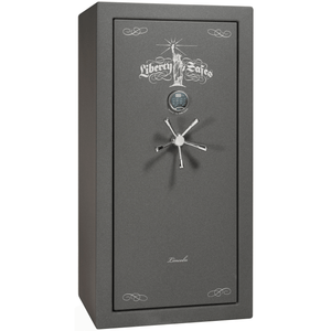"Lincoln Series | Level 5 Security | 90 Minute Fire Protection | Black Textured | Mechanical Lock | 40 | Dimensions: 66.5""(H) x 36""(W) x 32""(D)"
