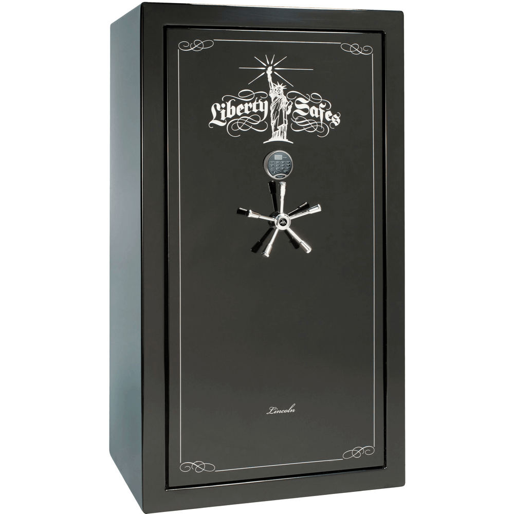 "Lincoln Series | Level 5 Security | 90 Minute Fire Protection | Black Textured | Mechanical Lock | 50 | Dimensions: 72.5""(H) x 42""(W) x 32""(D)"