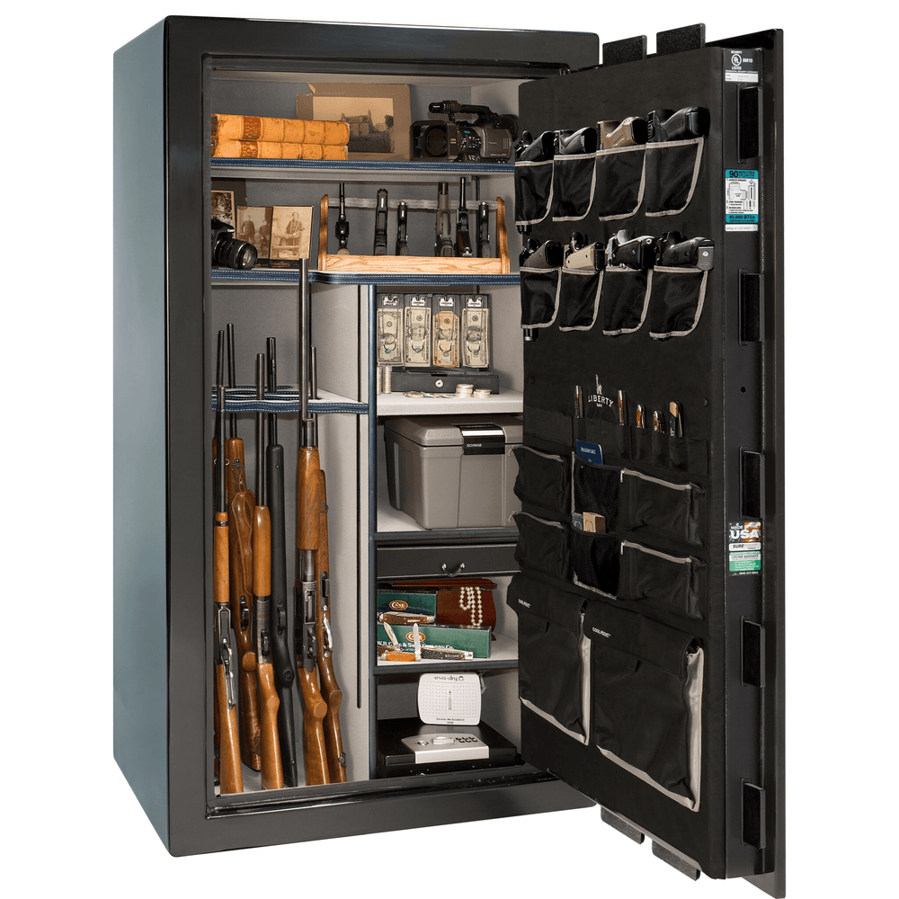 "Lincoln Series | Level 5 Security | 90 Minute Fire Protection | Bronze Textured | Electronic Lock | 50 | Dimensions: 72.5""(H) x 42""(W) x 32""(D)"