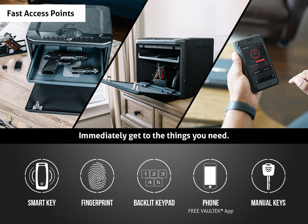 Load image into Gallery viewer, VAULTEK MXi Large Capacity Rugged Biometric Bluetooth Smart Safe