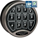 Accessory - Electronic Lock - BackLit - Black Chrome