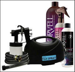 Fuji hvlp TAN LITE Spray Tan System with Norvell Tanning Solution