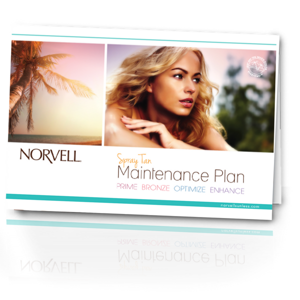 Norvell Sunless Preparation and Maintenance Cards (50 Cards)