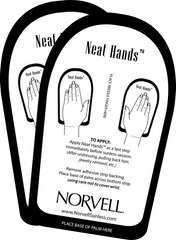 Norvell Cardboard Neat Hands Case (25 Pairs)