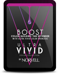 Norvell Boost Ultra Vivid Tan Extender Snap Packette .67oz
