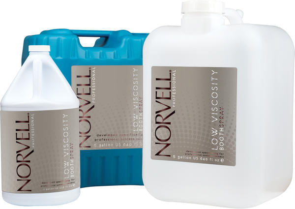 Norvell Original Bronzing Booth Solution Clear - Natural Container
