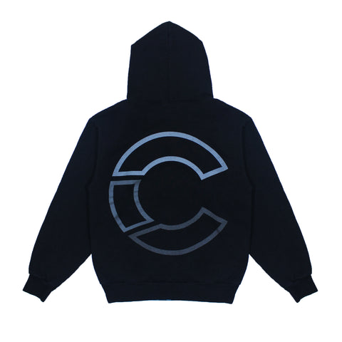the CRATE Classic C Hoody Black