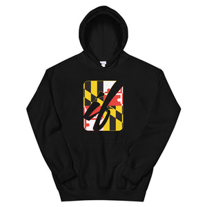 "Open image in slideshow, Logo ""Marylander"" Hoodie"