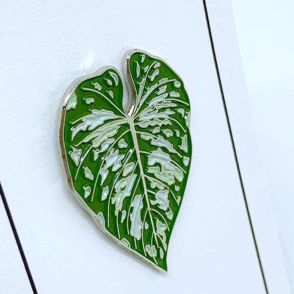 Philodendron Mamei Pin / Keyring - Luxe Foliage