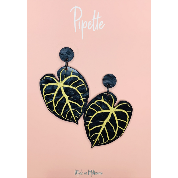 Anthurium Crystallinum Earrings