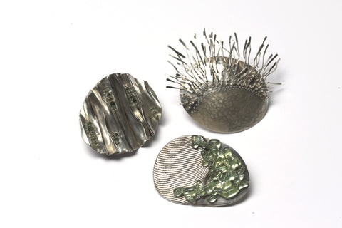 Isthmus 'From Sand to Stone' Brooch by Sophie Carnell