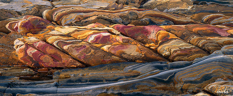 Rock Detail 2 by Chris Bell