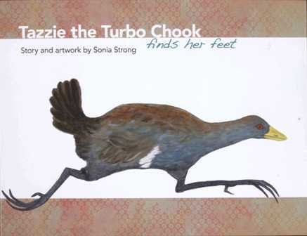 Tazzie The Turbo Chook Finds Her Feet