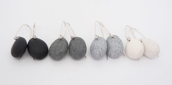 Sophie Carnell Pebble Stone Earrings