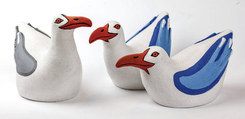 Eve Howard Ceramic Gulls