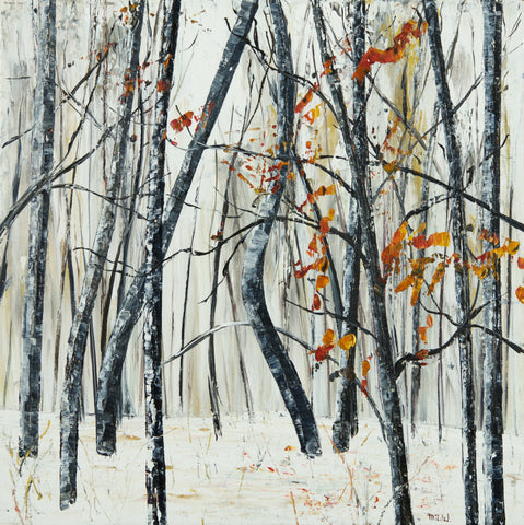 Cold Snap, Forest Series (958) by Michael Weitnauer