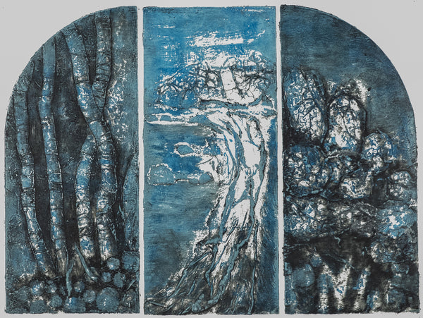 Tarkine Triptych by Lou-anne Barker