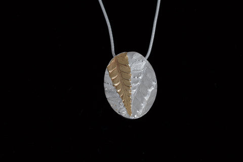 Tarkine Fern Cameo Pendant by Olivia Hickey