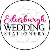 Edinburgh Wedding Invitations and stationery