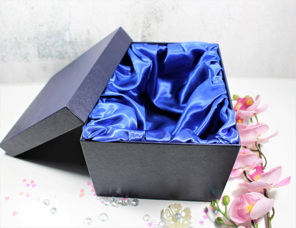 Glass Gift Box, Edinburghwedding Gift box, Glass Gift Box