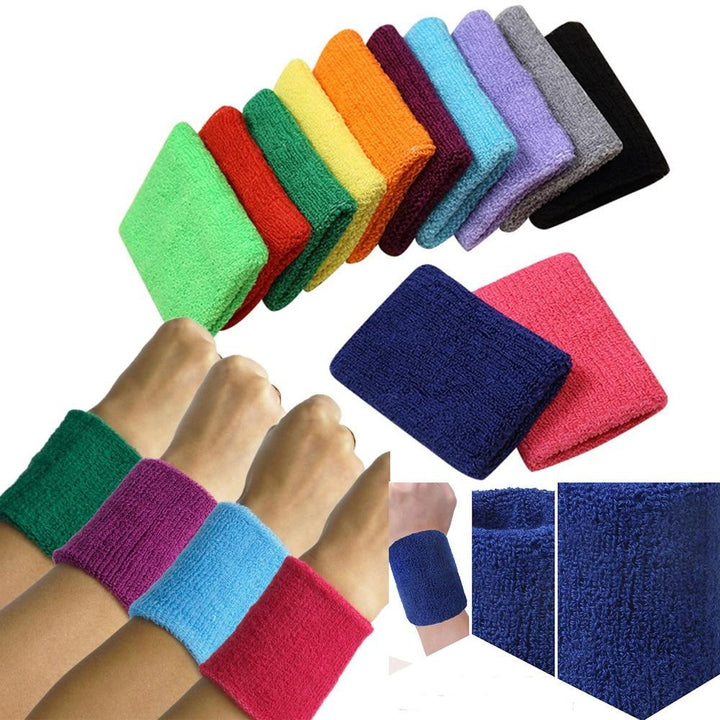 1PC Colorful Sport Sweatband - Single Athletics