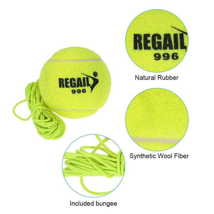 Durable Tennis Balls - Single Athletics