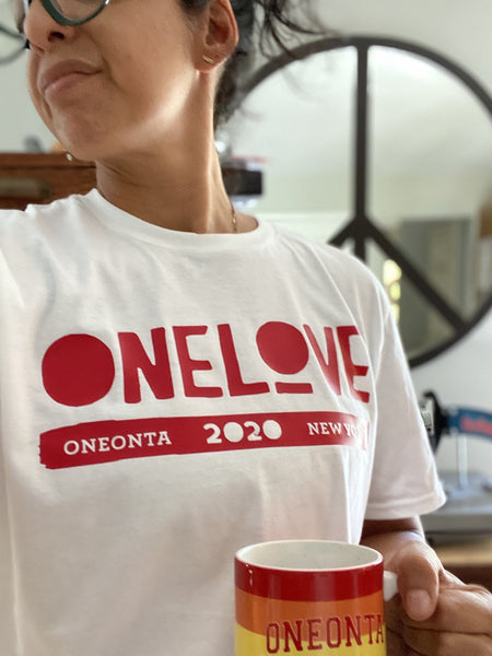 ONE LOVE x ONEONTA White T-Shirt