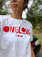 ONE LOVE x EVERYWHERE White T-Shirt