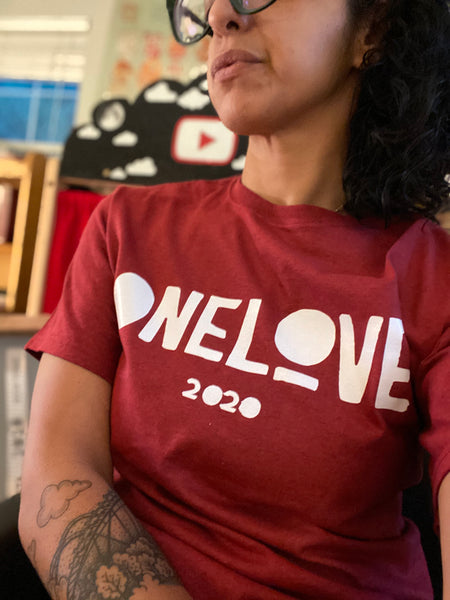 ONE LOVE x EVERYWHERE Red T-Shirt