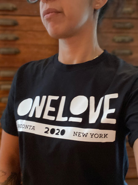 ONE LOVE x ONEONTA Black T-Shirt