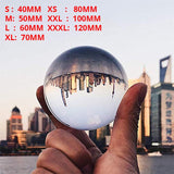 Globe K9 Clear Chandelier Lens Ball