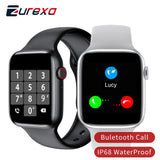 Zurexa W26 Smart Watch Men Women Heart Rate Monitor Blood Pressure Smartwatch IP68 Thermometer ECG Smart Watches Bluetooth Call
