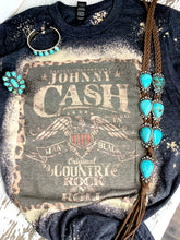 Load image into Gallery viewer, Johnny Cash Bleached tee