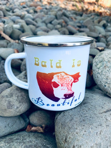 Bald is Beautiful Ranchy mugs