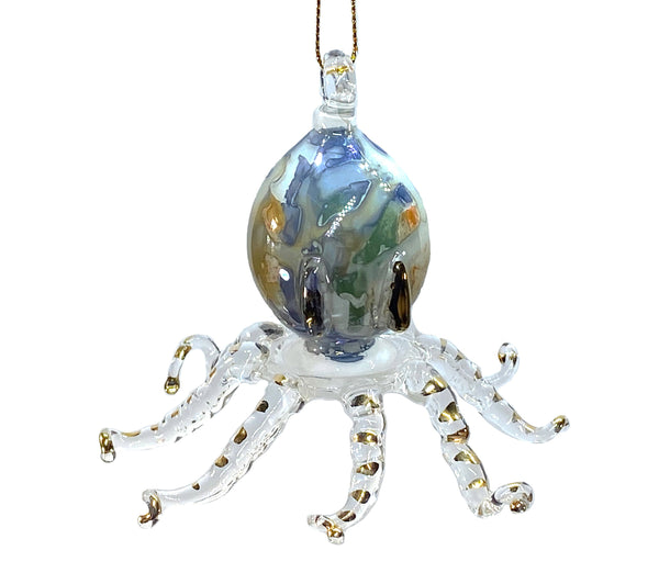 Octopus Marble Ornament