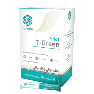 Shot T-Green Fort ADN 30 Sobres 6.5g