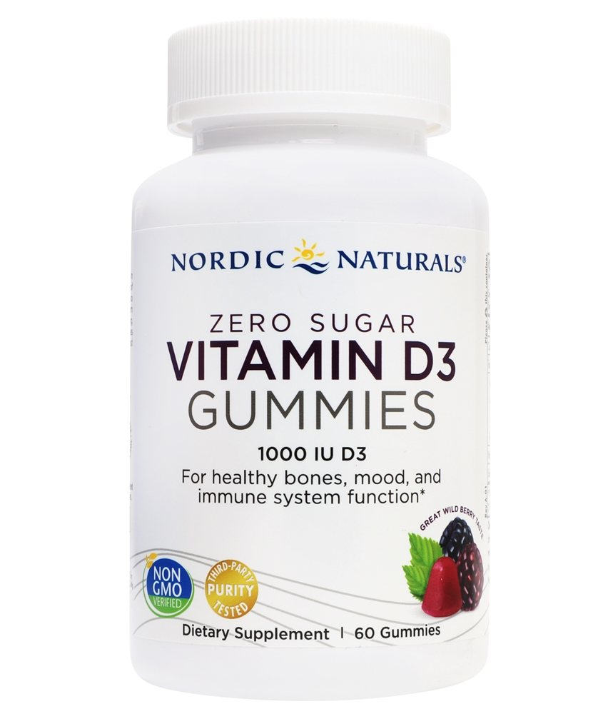 VITAMIN D3 1000 IU 60 GUMMIES