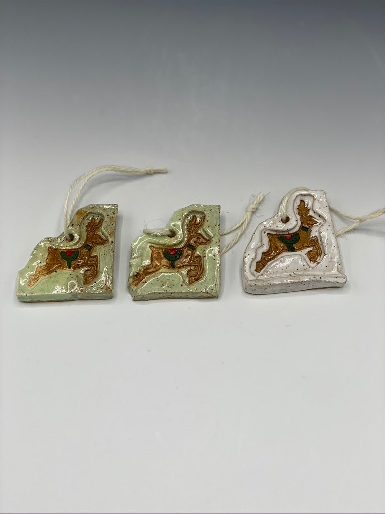 Reindeer Ornaments (Pair)