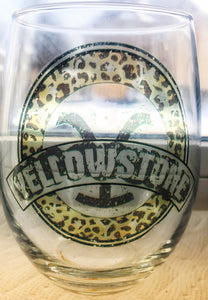 Yellowstone glass collection - glassware