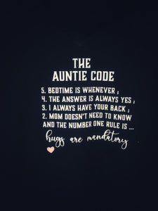 The Auntie Code T-shirt