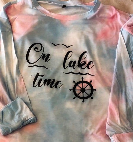 On lake time - light sweatshirt                     (T-shirt )